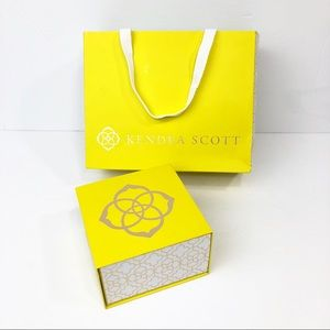 •Kendra Scott• Yellow Gift Box and Gift Bag Only
